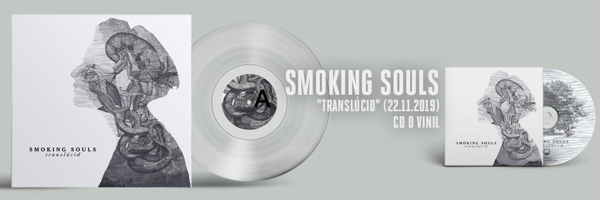 SMOKING SOULS - Translúcid (2019) CD VINILO