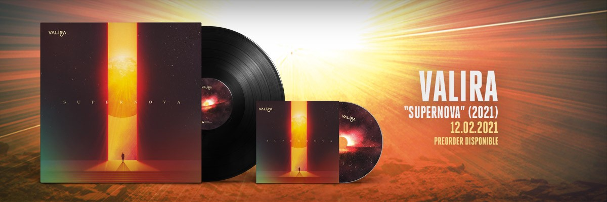 VALIRA - Supernova (2021) CD i vinil