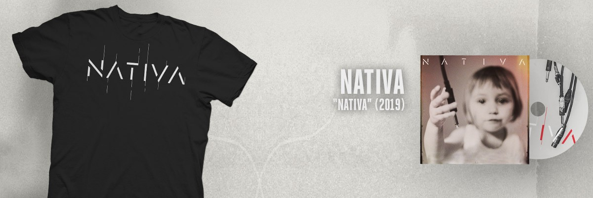 NATIVA - Nativa (2019) CD DIGIPACK CAMISETA